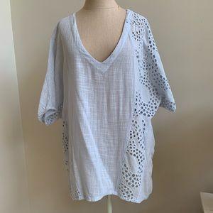XCVI Women's Niagara's cotton top tunic